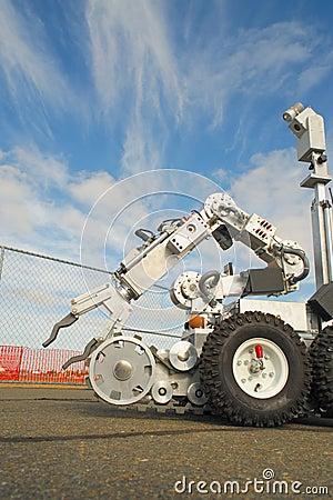 Bombardera den taktiska robotsquaden