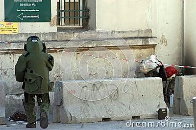 Bombardera squaden Redaktionell Bild
