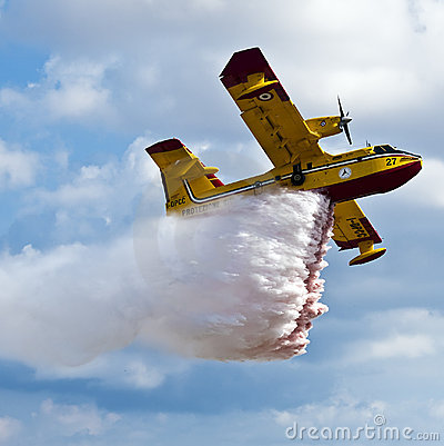 Bombardier 415 Superscooper Editorial Image