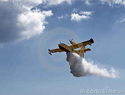 Bombardier 415 Superscooper Editorial Stock Photo