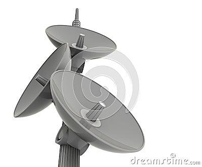 Bombe le satellite