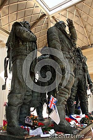 bomber command memorial Editorial Stock Image