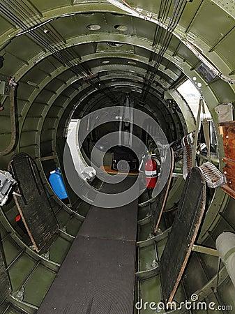 Bomber Interior Stock Image Image 8253901