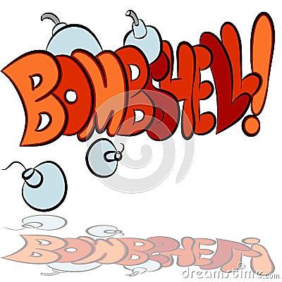 Bombshell Sound Effect Text