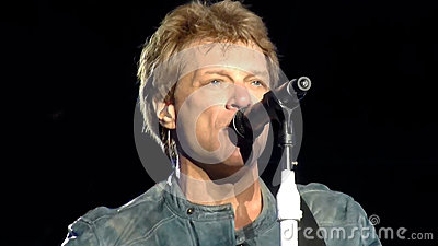 Bon Jovi Because We Can Editorial Stock Image