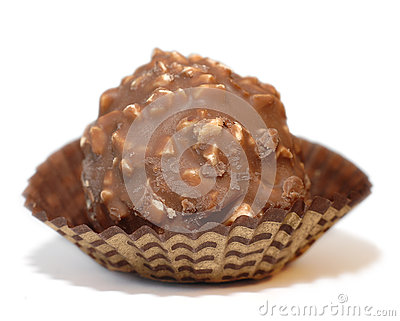 Bonbon with hazelnut