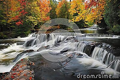 Bond Falls , Paulding Michigan USA