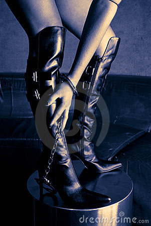 Free Bondage Boots Stock Photo - 1577700