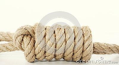 Bondage knot closeup