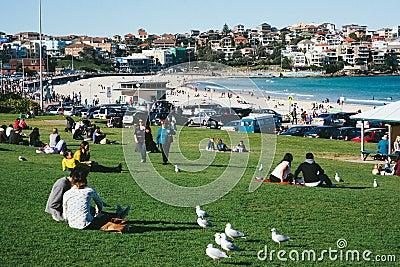 Bondi Beach Editorial Image