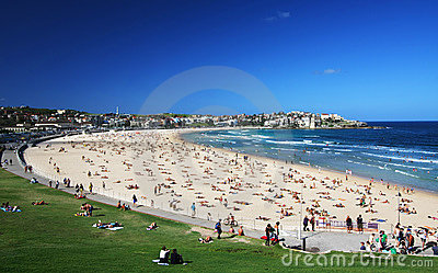 Bondi Beach in Sydney, Australia Editorial Photo