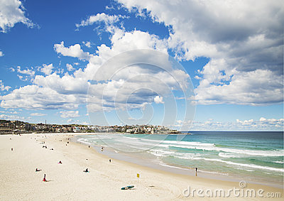 Bondi beach in sydney australia Editorial Image