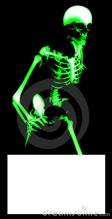 Bone Blank Sign 4