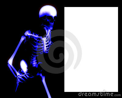 Bone Blank Sign