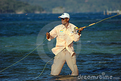 Bone Fishing in Honduras