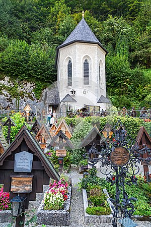 Free Bone House In Hallstatt Royalty Free Stock Photography - 109268077