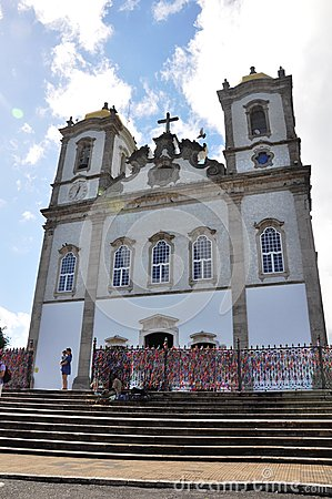 Bonfim Church Editorial Stock Photo