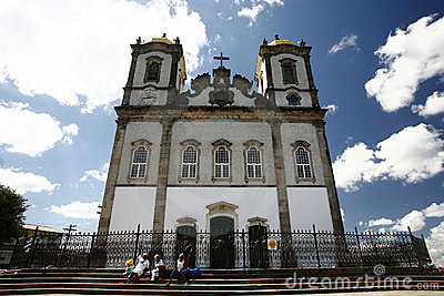 bonfim Church bahia brazil Editorial Stock Photo