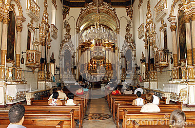 Bonfim Church - Salvador, Bahia, Brazil Editorial Photo
