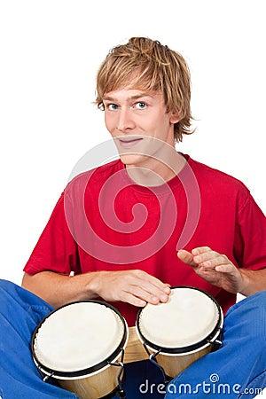 Bongo player