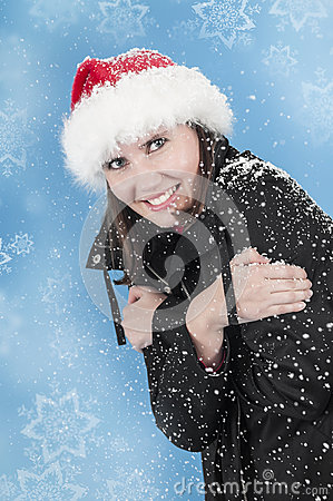 Bonheur dans la neige