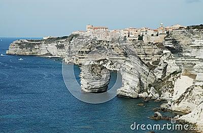 Bonifacio old town, Corsica