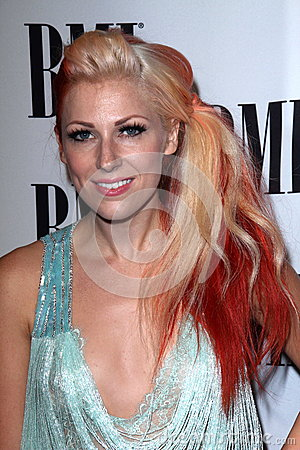 Bonnie McKee at the BMI Pop Awards, Beverly Wilshire Hotel, Beverly Hills, CA 05-15-12 Editorial Image