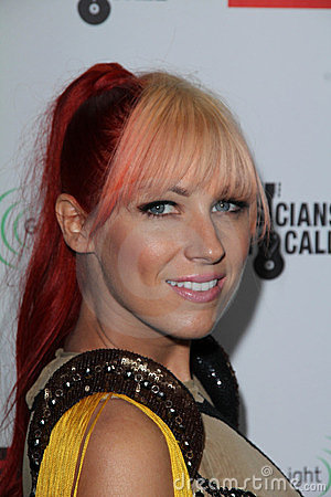 Bonnie McKee at the EMI Music 2012 Grammy Awards Party, Capital Records, Hollywood, CA 02-12-12 Editorial Photo