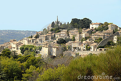 Bonnieux in France