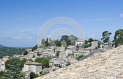 Bonnieux, france village.
