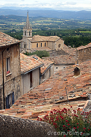 Bonnieux in the Provence