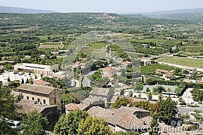 Bonnieux town