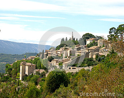Bonnieux village in Provence