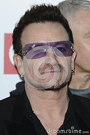 Bono Editorial Stock Photo