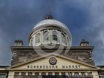 Bonsecours Market Editorial Photo
