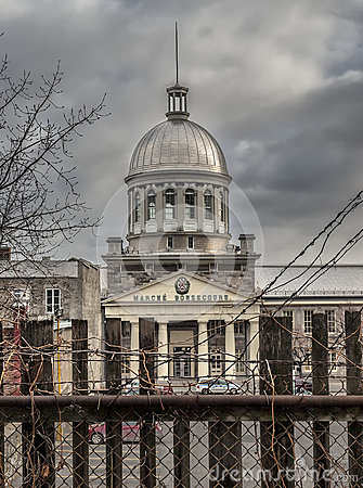 Bonsecours Market Editorial Stock Image