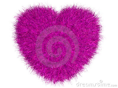 Bont roze hart