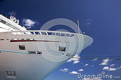 Boog van cruiseschip