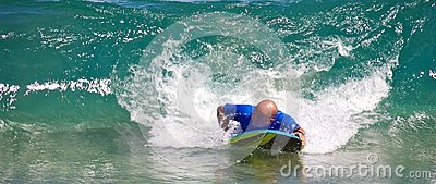 Boogie boarding Editorial Photography