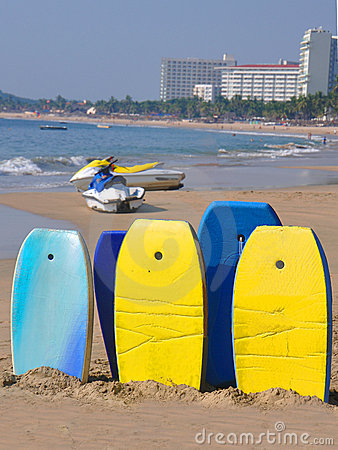 Free Boogie Boards For Rent Royalty Free Stock Photography - 17562727