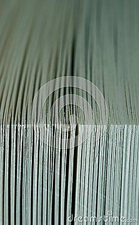 Book close-up