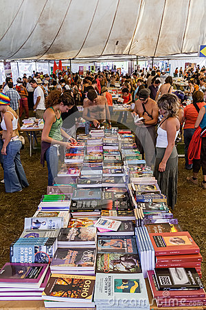 Book Fair At The Festa Do Avante Festival. Editorial Photo ...