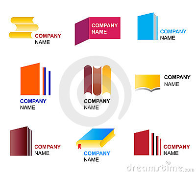 Book icon and logo designs