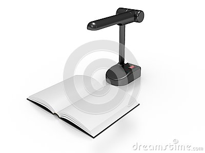 Book with a lamp