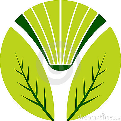 Book leaf logo