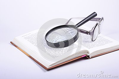 The book and lens