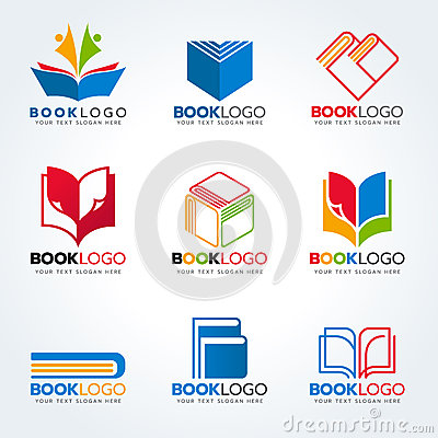 Free Book Logo For Education And Business Vector Set Design Royalty Free Stock Photos - 72985438