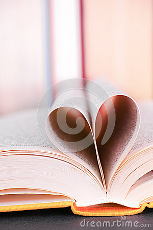 Free Book Love Royalty Free Stock Photography - 51511587