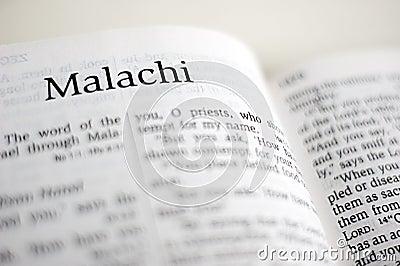 Book Of Malachi Royalty Free Stock Photos Image 38720308
