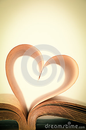 Free Book Of Love Stock Photography - 47370572